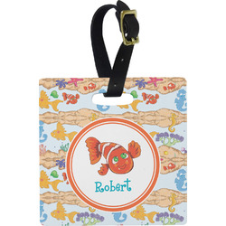 Under the Sea Square Luggage Tag (Personalized)