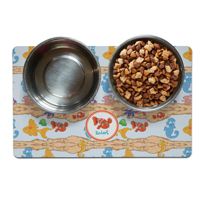 Under the Sea Dog Food Mat (Personalized)