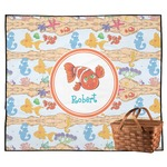 Under the Sea Outdoor Picnic Blanket (Personalized)