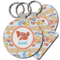 Under the Sea Plastic Keychains (Personalized)