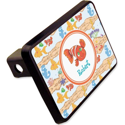 """Under the Sea Rectangular Trailer Hitch Cover - 2"""" (Personalized)"""