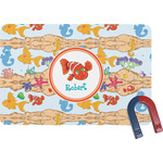 Under the Sea Rectangular Fridge Magnet (Personalized)