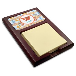 Under the Sea Red Mahogany Sticky Note Holder (Personalized)