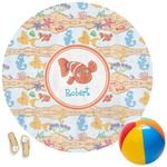 Under the Sea Round Beach Towel (Personalized)