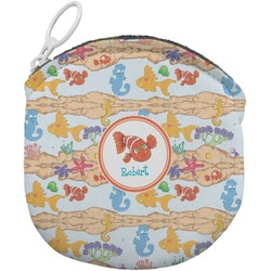 Under the Sea Round Coin Purse (Personalized)