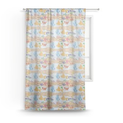 "Under the Sea Sheer Curtain - 50""x84"" (Personalized)"
