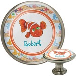 Under the Sea Cabinet Knob (Silver) (Personalized)