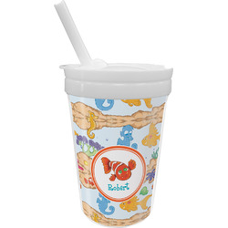 Under the Sea Sippy Cup with Straw (Personalized)