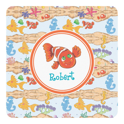 Under the Sea Square Decal (Personalized)