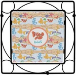 Under the Sea Square Trivet (Personalized)