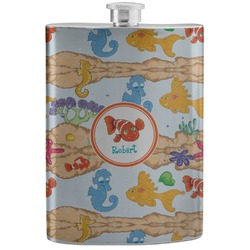 Under the Sea Stainless Steel Flask (Personalized)