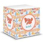 Under the Sea Sticky Note Cube (Personalized)