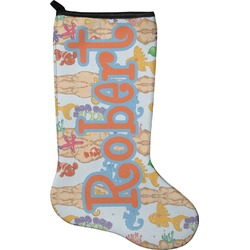 Under the Sea Christmas Stocking - Neoprene (Personalized)