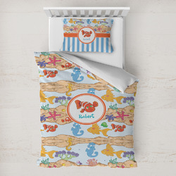 Under the Sea Toddler Bedding w/ Name or Text