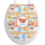 Under the Sea Toilet Seat Decal (Personalized)