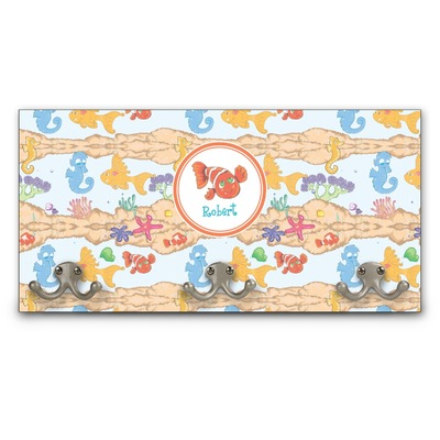Under the Sea Wall Mounted Coat Rack (Personalized)