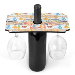 Under the Sea Wine Bottle & Glass Holder (Personalized)