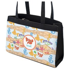 Under the Sea Zippered Everyday Tote (Personalized)