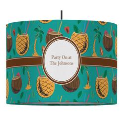 Coconut Drinks Drum Pendant Lamp (Personalized)