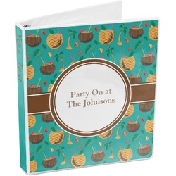 Coconut Drinks 3-Ring Binder (Personalized)