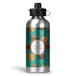 Coconut Drinks Water Bottle - Aluminum - 20 oz (Personalized)