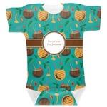 Coconut Drinks Baby Bodysuit (Personalized)