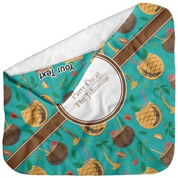 Coconut Drinks Baby Hooded Towel (Personalized)