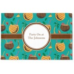 Coconut Drinks Woven Mat (Personalized)