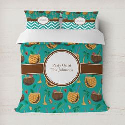 Coconut Drinks Duvet Covers (Personalized)