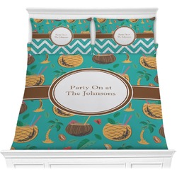 Coconut Drinks Comforter Set (Personalized)