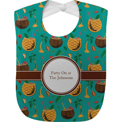 Coconut Drinks Baby Bib (Personalized)