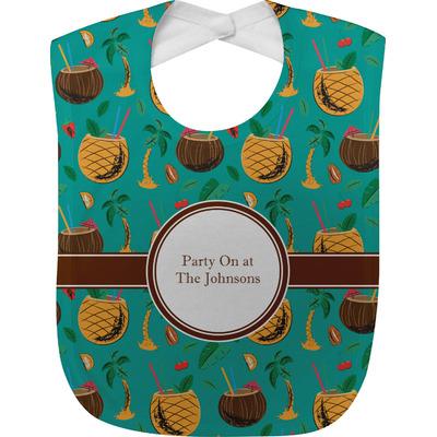 Coconut Drinks Baby Bib (Personalized)
