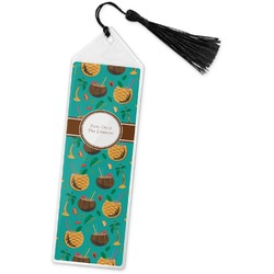 Coconut Drinks Book Mark w/Tassel (Personalized)