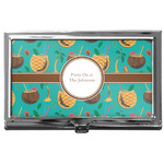 Coconut Drinks Business Card Case