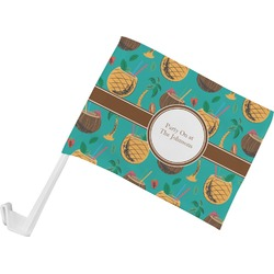Coconut Drinks Car Flag (Personalized)