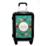 Coconut Drinks Carry On Hard Shell Suitcase (Personalized)