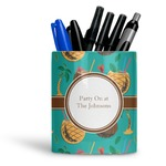 Coconut Drinks Ceramic Pen Holder