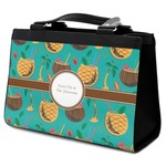 Coconut Drinks Classic Tote Purse w/ Leather Trim (Personalized)