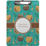 Coconut Drinks Clipboard (Personalized)