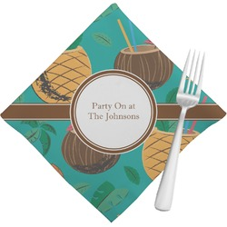 Coconut Drinks Napkins (Set of 4) (Personalized)