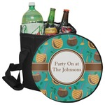 Coconut Drinks Collapsible Cooler & Seat (Personalized)