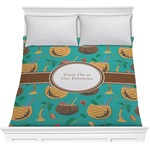 Coconut Drinks Comforter (Personalized)