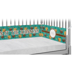 Coconut Drinks Crib Bumper Pads (Personalized)