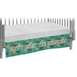 Coconut Drinks Crib Skirt (Personalized)