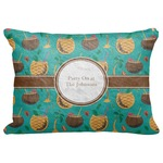 "Coconut Drinks Decorative Baby Pillowcase - 16""x12"" (Personalized)"