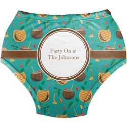 Coconut Drinks Diaper Cover (Personalized)