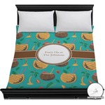 Coconut Drinks Duvet Cover (Personalized)