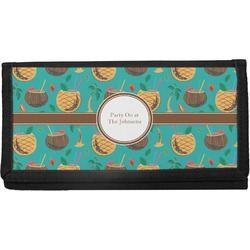 Coconut Drinks Checkbook Cover (Personalized)