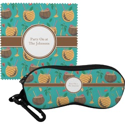 Coconut Drinks Eyeglass Case & Cloth (Personalized)