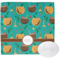 Coconut Drinks Wash Cloth (Personalized)